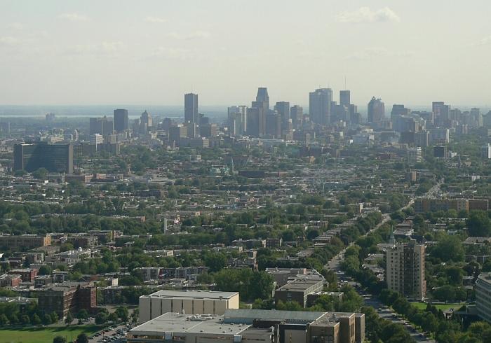 centre ville tour montreal