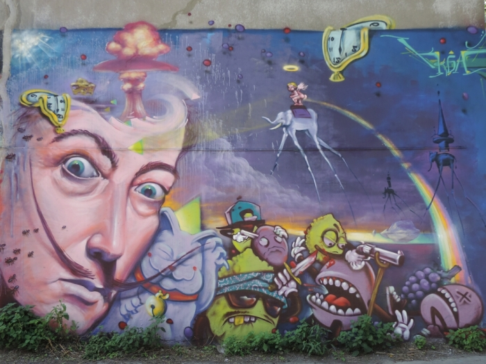 murale Dali