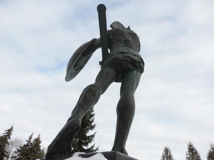 Monument du Guerriero Sannita (1)