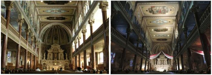 La chapelle de jour et de soir