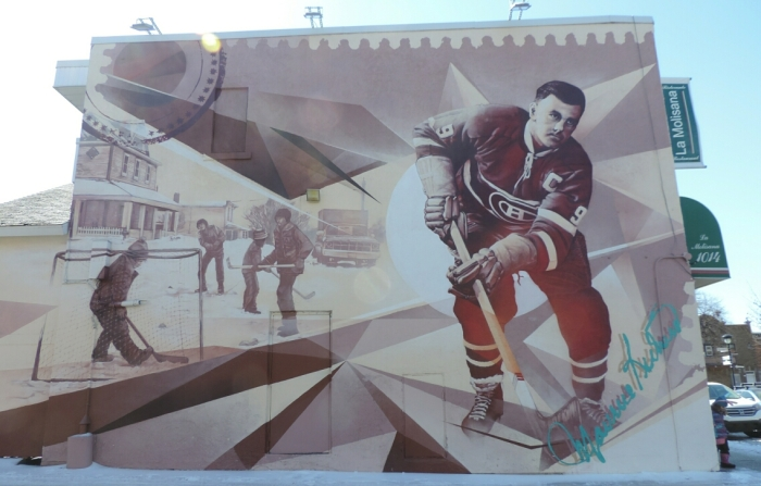 05 murale Maurice Richard