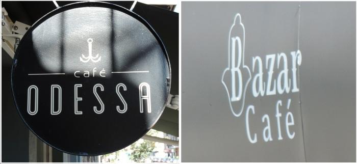 04 Odessa et Bazar Cafe