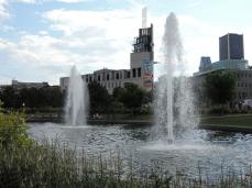 fontaine (31) Parc linéaire de la Commune
