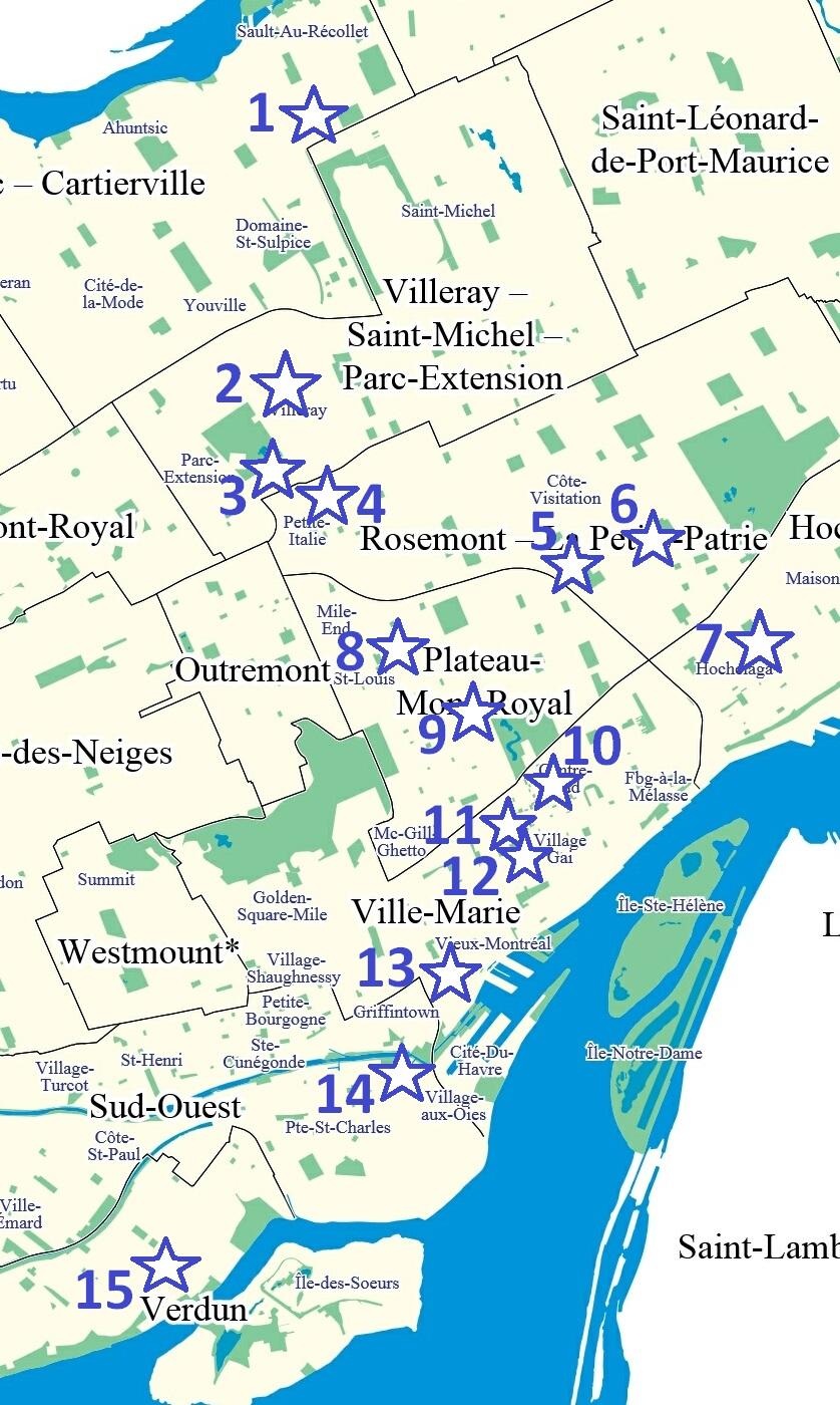 Top sites de rencontres de Montréal