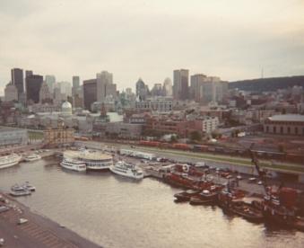 Avant l'aménagement de la marina et de la plage urbaine